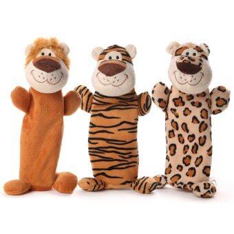 pet toy ของเล่นสุนัข 3 wild cat เสือ 3 ตัว
