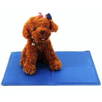 Harga Pet Dog Cat Summer Cooling Bed Ice Pad Cushion Mat S - intl