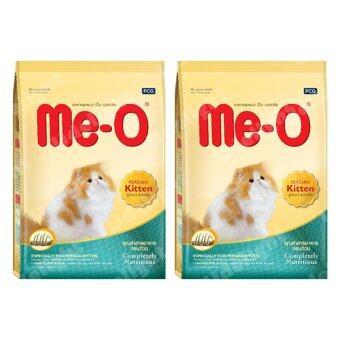 Me-O (Meo) Persian Kitten Food 400g (2 bags) มีโอ อาหารลูกแมว แมวเปอร์เซีย 400 กรัม (2 ถุง)