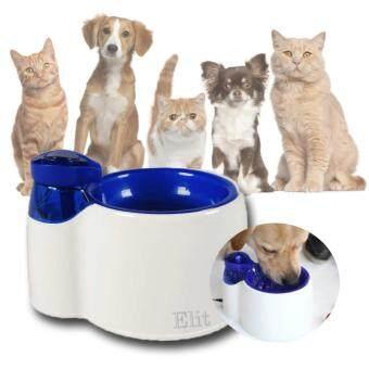Elit ที่ให้น้ำแมว สุนัข สัตว์เลี้ยง แบบน้ำพุ Pet Drinking Fountain