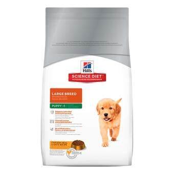 Hill's Science Diet Puppy Large Breed อาหารสุนัขชนิดเม็ดสูตรลูกสุนัขพันธุ์ใหญ่ อายุน้อยกว่า1ปี ขนาด15กก.