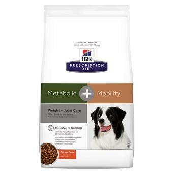 Hill's Prescription Diet Metabolic+Mobility Canine อาหารสำหรับประกอบการรักษาการลดและควบคุมน้ำหนัก รวมทั้งโรคข้อในสุนัข ขนาด9.5ปอนด์ (4.31กก.)