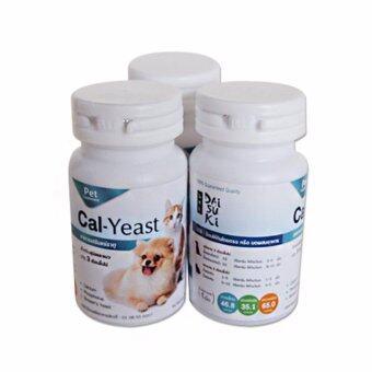 Daisuki Cal-Yeast อาหารเสริมแร่ธาตุ แคลเซียมบำรุง (3 กระปุก)