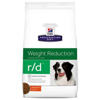 Hill's Prescription Diet r/d Canine Weight Reduction อาหารประกอบการรักษาโรคอ้วน/ลดน้ำหนักสำหรับสุนัข (8.5ปอนด์) ขนาด3.85กก.