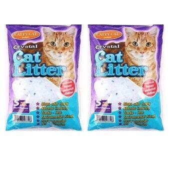 Cattycatทรายแมว คริสตัล5L ( 2 units )