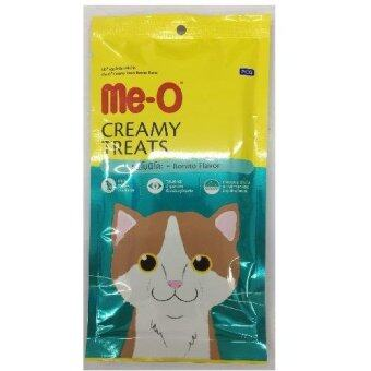 Me-o Creamyขนมแมวเลีย รสโบนิโตะ รุ่น4ซอง ซองละ15g ( 2 units )