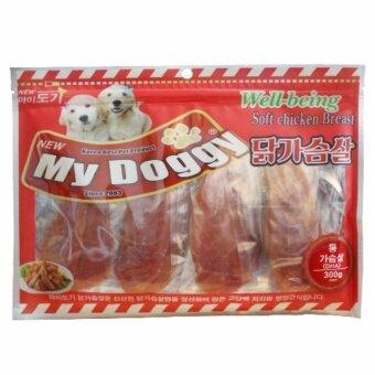 My Doggy - อกไก่นุ่ม (ไก่งวง) Soft Chicken Breast 300g from Korea