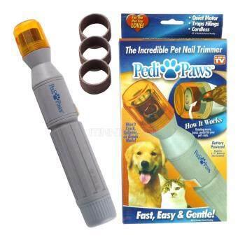 เครื่องขัดเล็บหมาและแมวไร้สาย Pedi Paws Pet Nails Trimmerกรรไกรตัดเล็บหมา อุปกรณ์แต่งเล็บสุนัข ปลอดภัยไม่เจ็บไม่มีแผล (image 3)
