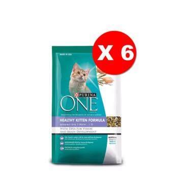 Purina One Healthy Kitten Formula 1.3Kgs x6 Units เพียวริน่า วัน สูตรลูกแมว (3 สัปดาห์ - 1 ปี) ขนาด 1.3 กิโลกรัม 6 ถุง