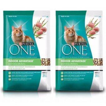 Purina One Help Minimize Hairball for Indoor Adult Cat Food 400g (2Unit) อาหารแมว เพียวริน่าวัน สูตร สำหรับแมวเลี้ยงในบ้าน แมวโตถุงเล็ก 400 กรัม 2 ถุง