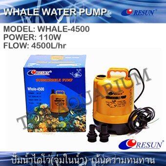 ปั๊มน้ำ ไดโว่ RESUN Whale-4500 (110W) 4500L/hr