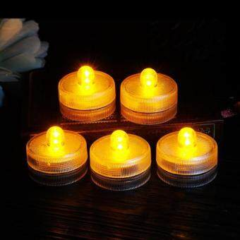 ... rooroom 12 Set Underwater Submersible Flameless Battery-OperatedLights LED Tea Light Candle Lamp For Wedding ...