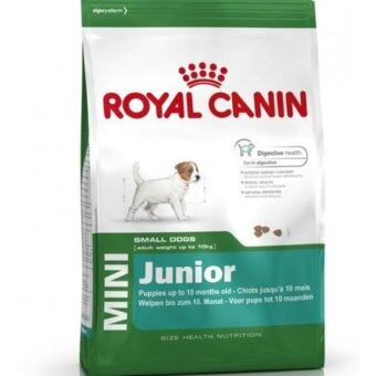 ROYAL CANIN MINI JUNIOR 15 KG อาหารสำหรับลูกสุนัขพันธุ์เล็ก 2-10เดือน ขนาด15กิโลกรัม