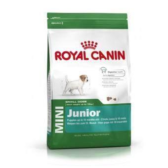 Royal Canin Mini Junior 2 kg อาหารลูกสุนัขพันธุ์เล็ก 2 – 10 เดือน\nขนาด 2 กิโลกรัม