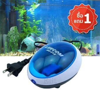 Sinlin ปั๊มลมตู้ปลา ออกซิเจนตู้ปลา ทำงานด้วยความเงียบ Air Pump Fish Tank แถมฟรี 1 ชิ้น