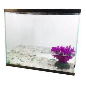 ตู้เลี้ยงกุ้ง ปลา เต่า สวยงาม กระจกใส ขนาด 26x13 cm.