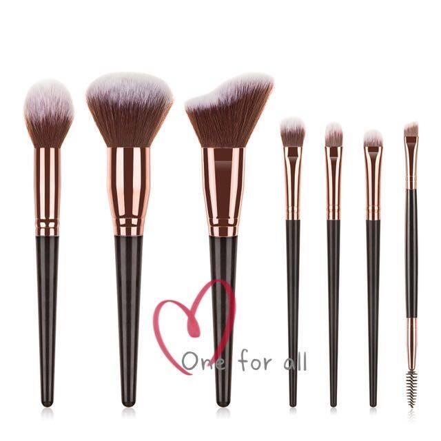 แปรงแต่งหน้า H24 brush set เซต7ชิ้น แปรงปัดแก้ม แปรงไฮไลท์ แปลงแต่งหน้า Make up brush fancy (2สี)