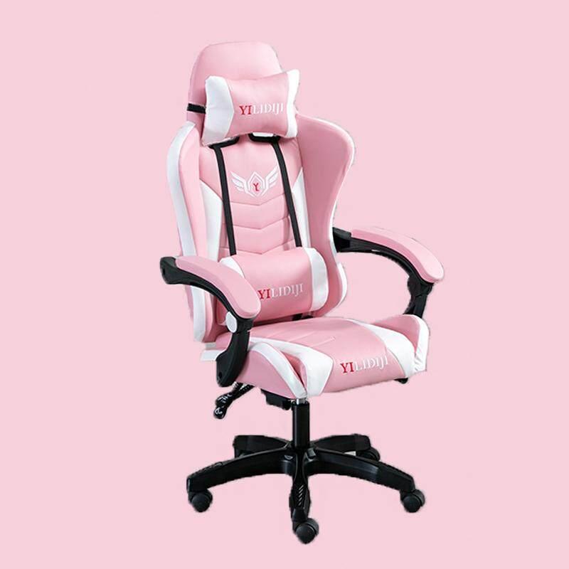 HZ shop เก้าอี้เล่นเกม เก้าอี้เกมมิ่ง Gaming Chair ปรับความสูงได้ มีที่นวดในตัว รุ่น HM50