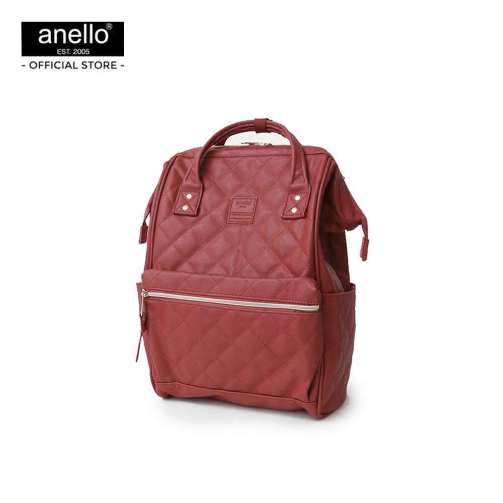 ยี่ห้อนี้ดีไหม  ขอนแก่น anello กระเป๋าเป้ Mini Classic Rucksack PU_AH-B3002