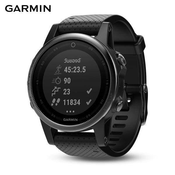 ยี่ห้อนี้ดีไหม  ตาก GARMIN SMARTWATCH รุ่น Fenix 5S  Sapphire  Black  GPS Watch  SEA (รับประกันศูนย์ไทย 1 ปี)