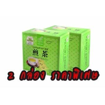 ชาเขียวญี่ปุ่น OSK Trade Mark (2 กล่อง 100 ซอง)