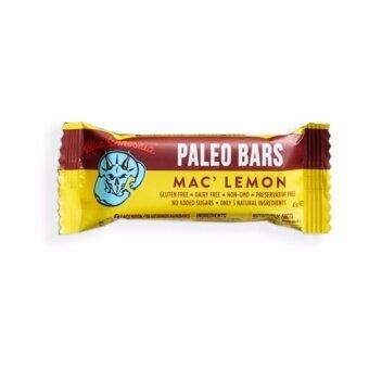 Paleo Bar รส Mac' Lemon (12แท่ง/กล่อง)