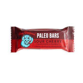 Paleo Bar รส Sour Cherry and Coconut (12แท่ง/กล่อง)
