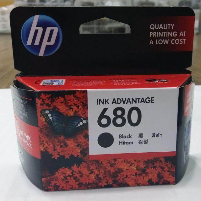 สุดยอดสินค้า!! Ink HP 680 หมึกอิงค์เจ็ต HP 680 หมึกแท้ ดำ จัดส่งด่วนโดย Kerry Express