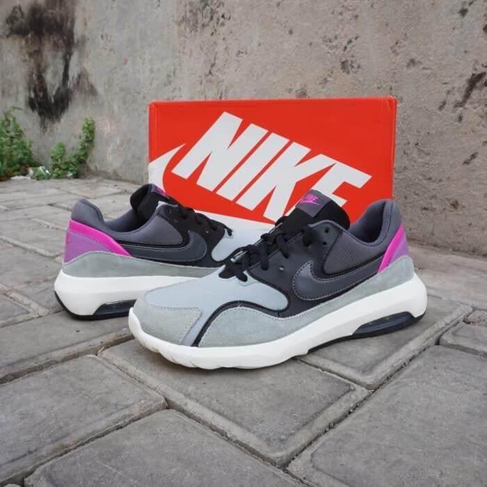 สุดยอดสินค้า!! รองเท้าผ้าใบ Nike รองเท้ากีฬา ผู้หญิง ไนกี้ Nike Air Max Nostalgic Grey (รุ่นฮิตสาวฮอต) ++ลิขสิทธิ์แท้ 100% จาก NIKE พร้อมส่ง ส่งด่วน kerry++