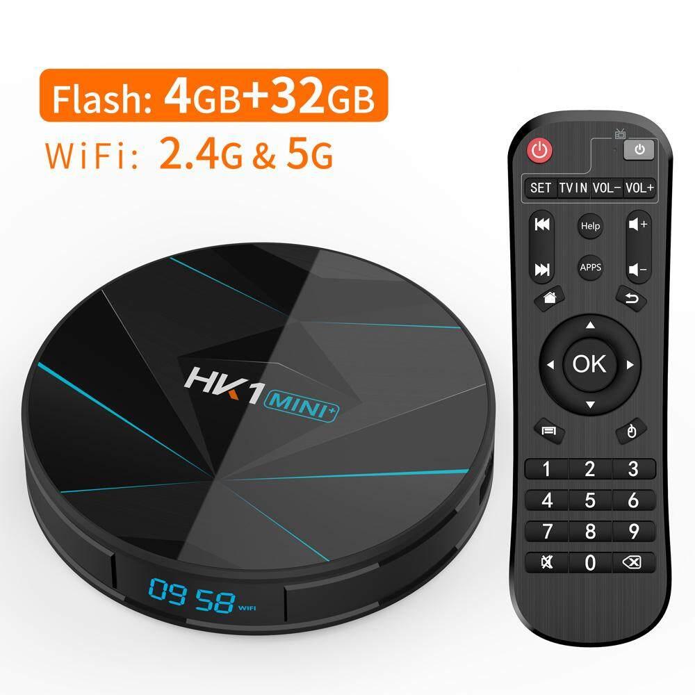 สินเชื่อบุคคลซิตี้  พังงา Bqeel HK1MINI Android 9.0 กล่องทีวีสมาร์ท RK3318 Quad Core 4 กรัม 64 กรัม 128 กรัม 4K Smart TV Box 2.4 กรัมและ 5GHz WIFI BT4.0 Google Player ตั้งกล่องด้านบน