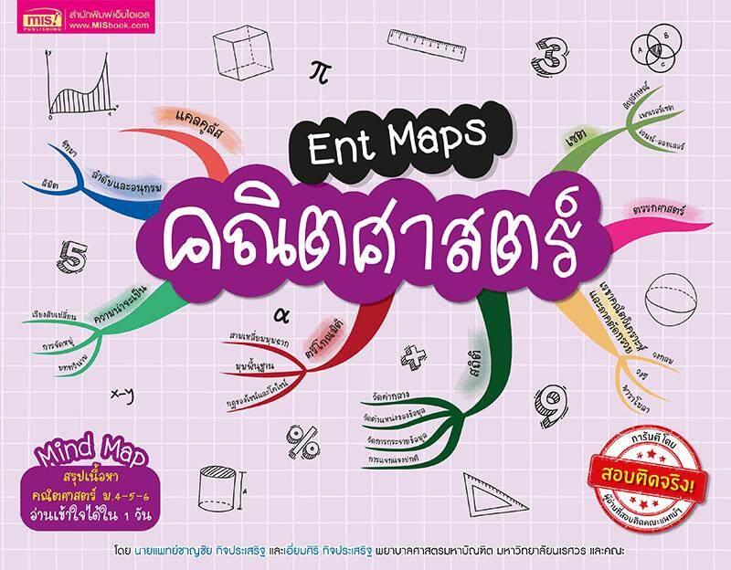 ลดสุดๆ Ent Maps คณิตศาสตร์