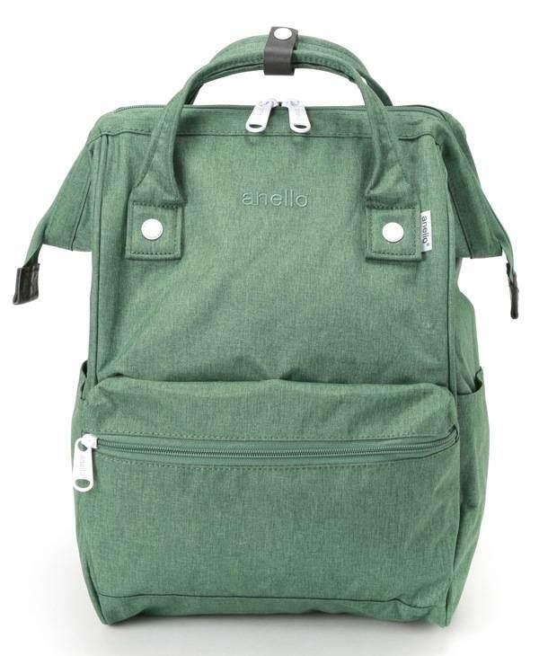การใช้งาน  บุรีรัมย์ Anello Regular Backpack-Heat Tone เขียว