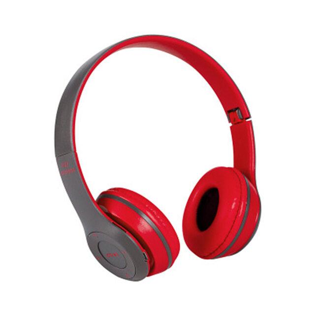 P47 Wireless Headphones หูฟังบลูทูธไร้สาย คมชัดพลังขับขนาดใหญ่ สะใจ รับสายสนทนา เพิ่ม SD Card ได้ด้วย
