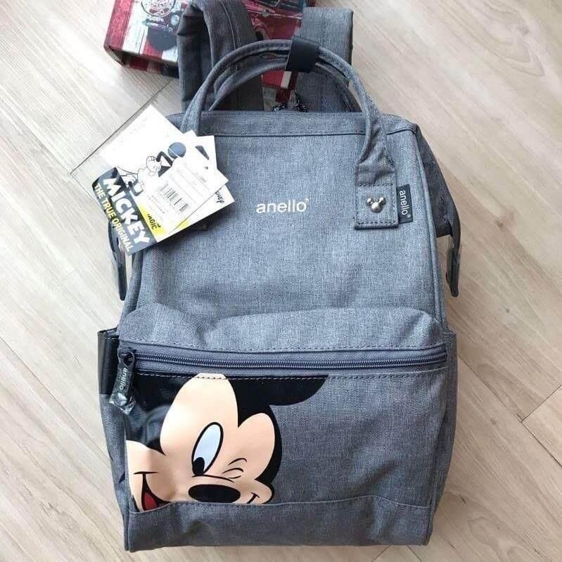 ยี่ห้อนี้ดีไหม  พระนครศรีอยุธยา พร้อมส่ง Anello Đisnēy 2019 Polyester Canvas Backpack Limited