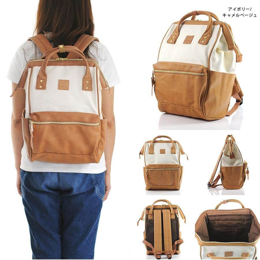 สอนใช้งาน  เพชรบูรณ์ กระเป๋าเป้ Anello PU Backpack (Classic Size) - Japan Imported 100%