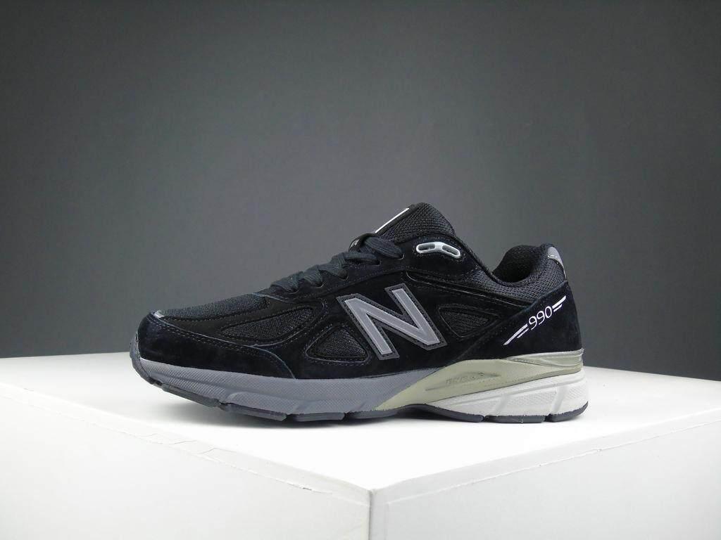สอนใช้งาน  ตาก New Balance_2019 รองเท้าวิ่งผู้หญิง / Unisex s Fashion Sports Running Shoes Sneakers NB-990V4-3