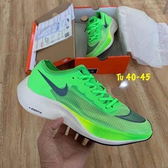 ยี่ห้อนี้ดีไหม  บุรีรัมย์ Nike Zoom Vaporfly next 2019 ของแท้ ??% ไม่ผ่านQC