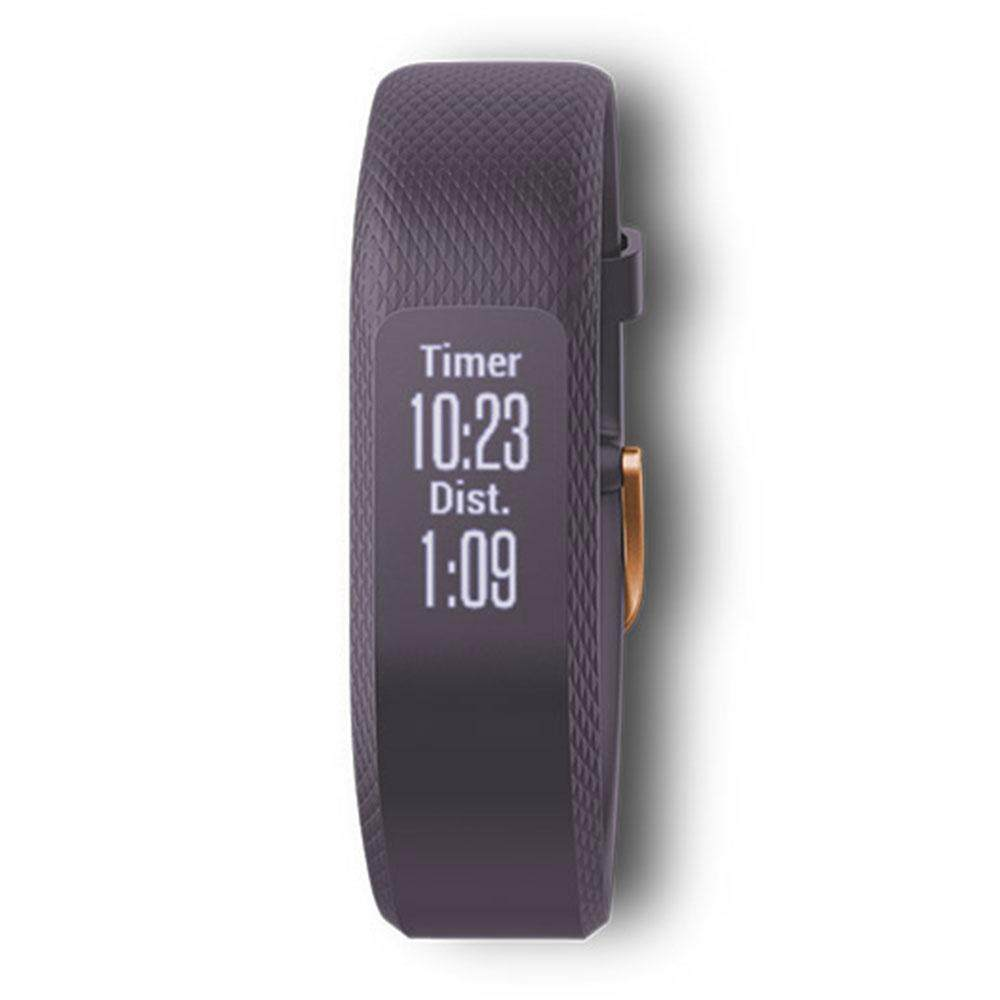ยี่ห้อนี้ดีไหม  นนทบุรี Garmin Vivosmart 3 GM-010-01755-93 Smart Digital Purple Silicone Unisex Smartwatch