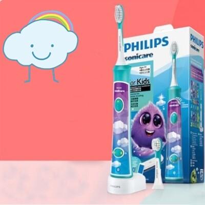 แปรงสีฟันไฟฟ้าเพื่อรอยยิ้มขาวสดใส ตราด Philips Sonicare For Kids Children electric toothbrush HX6322