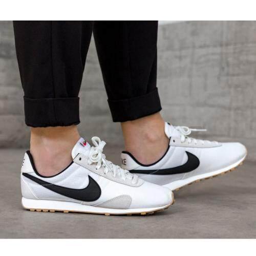 ลดสุดๆ รองเท้าผ้าใบ ไนกี้ Nike รองเท้าวิ่งไนกี้ Pre Montreal Vintage White (รุ่นฮิตสาวฮอต) ++ลิขสิทธิ์แท้ 100% จาก NIKE พร้อมส่ง ส่งด่วน kerry++