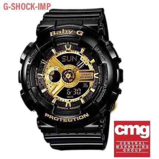 นนทบุรี นาฬิกา Casio BABY-G รุ่น BA-110-1A ของแท้ ประกัน Cmg 1 ปี
