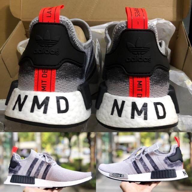 ยี่ห้อนี้ดีไหม  สมุทรสงคราม  Adidas Nmd limited edition  Nmd grey พร้อมส่ง