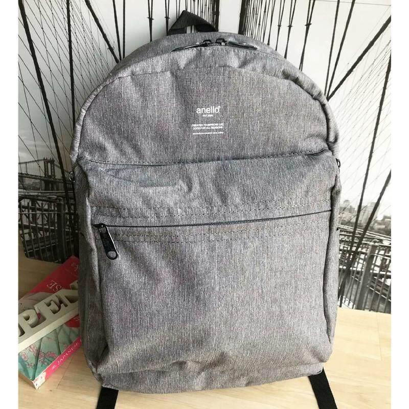 บัตรเครดิต ธนชาต  นครสวรรค์ Anello Mottled Polyester 10 Pocket Daypack กระเป๋าเป้สะพายหลังรุ่นใหม่ล่าสุด วัสดุโพลีเอสเตอร์ (ของแท้ 100%)