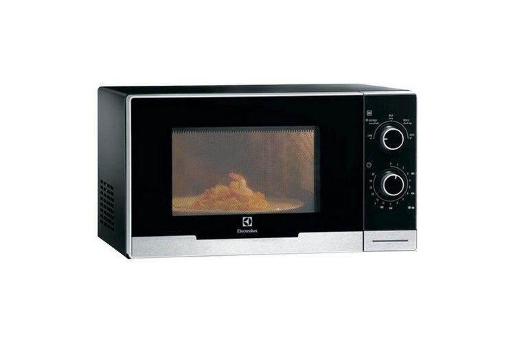 รุ่นใหม่ล่าสุด อุ่นอาหารร้อนเร็ว ประหยัดไฟ ฟังก์ชันพร้อม ใช้งานสะดวก Microwave ไมโครเวฟ ELECTROLUX EMM2308X 23L ELECTROLUX EMM2308X