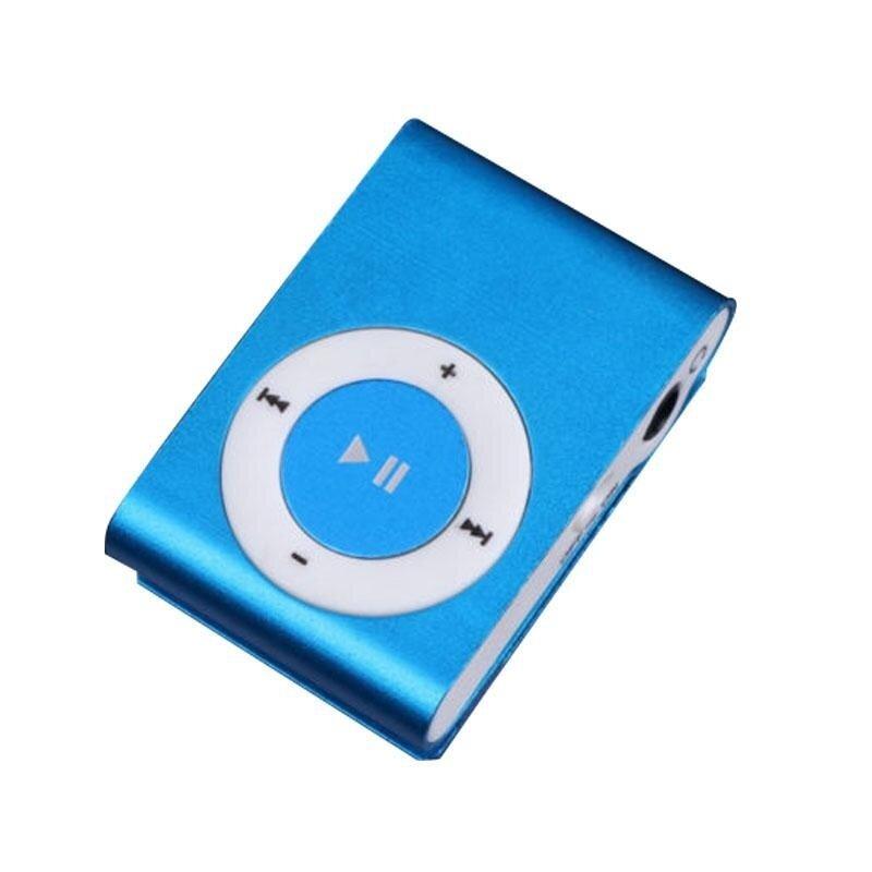1-8GB Support Micro SD TF Mini Clip Metal USB MP3 Music Media Player BU - intl