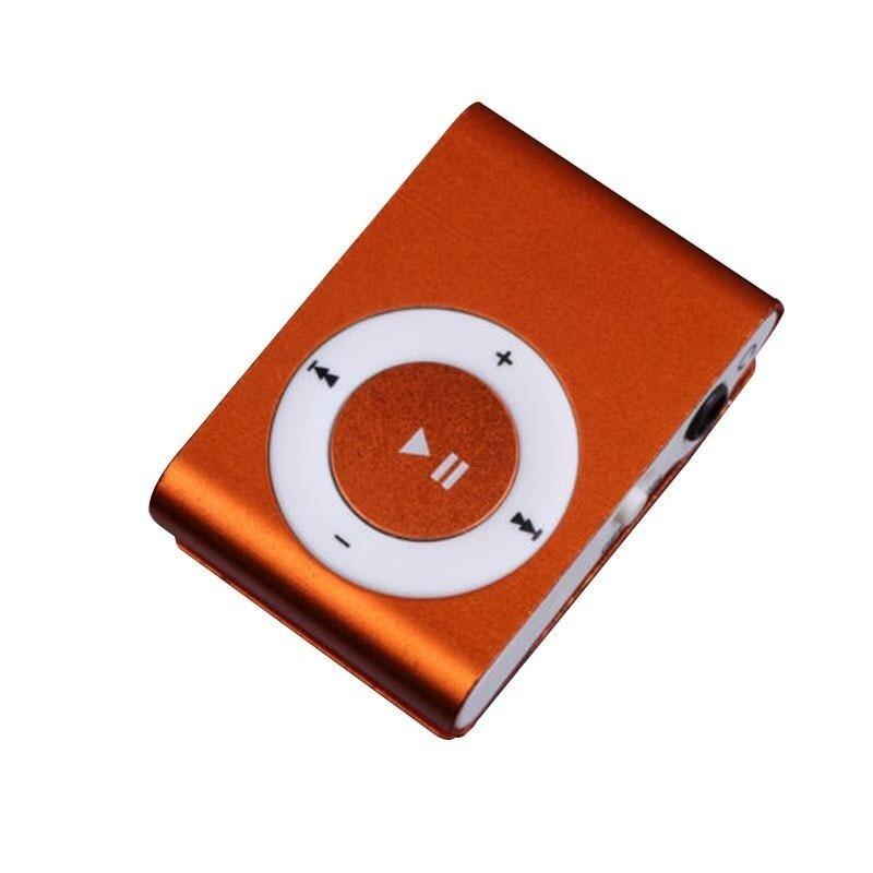 1-8GB Support Micro SD TF Mini Clip Metal USB MP3 Music Media Player OR - intl