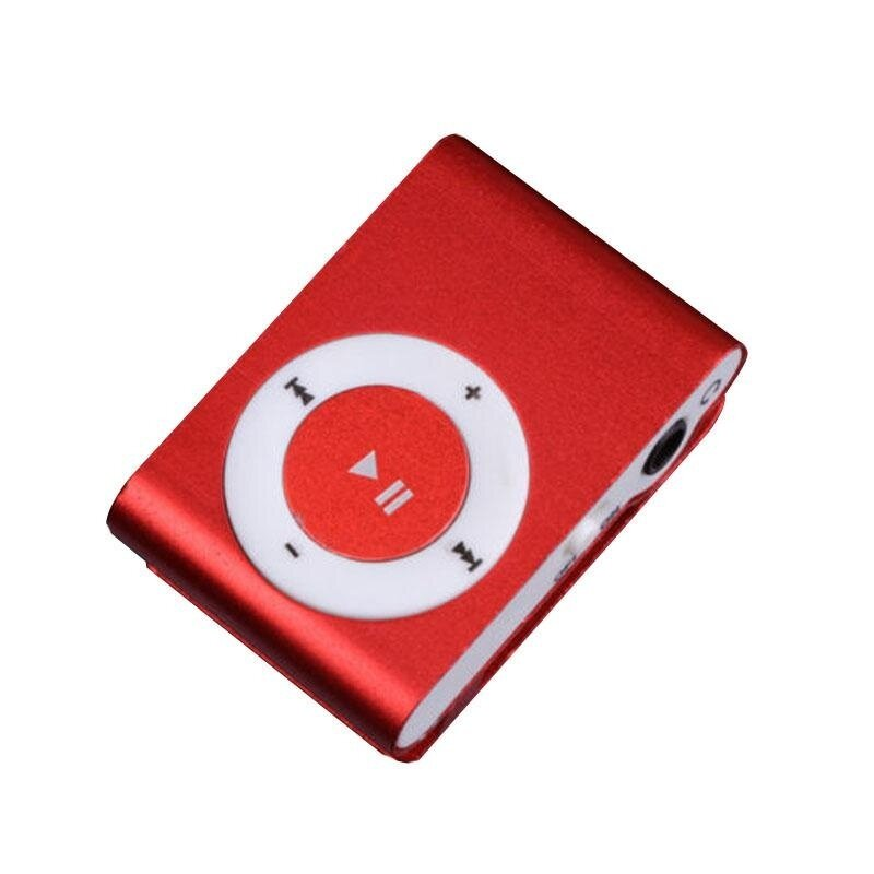 1-8GB Support Micro SD TF Mini Clip Metal USB MP3 Music Media Player RD - intl