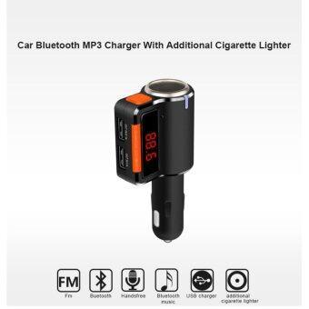 ของแท้100% บลูทูธในรถยนต์ BC09 Car MP3 Audio Player Bluetooth FMTransmitter Wireless FM Modulator Car Kit HandsFree LCD Display USBCharger for Mobile