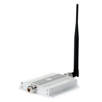 1.5นิ้วแอลซีดี 2G/3G/4Gโทรศัพท์มือถือวชิระพิสูจน์สัญญาณกระตุ้น-เงิน+สีดำ
