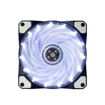 15 led 12โวลต์หลอดนีออนคอมพิวเตอร์พัดลมระบายความร้อนเคสมากพอควร(ขาว)